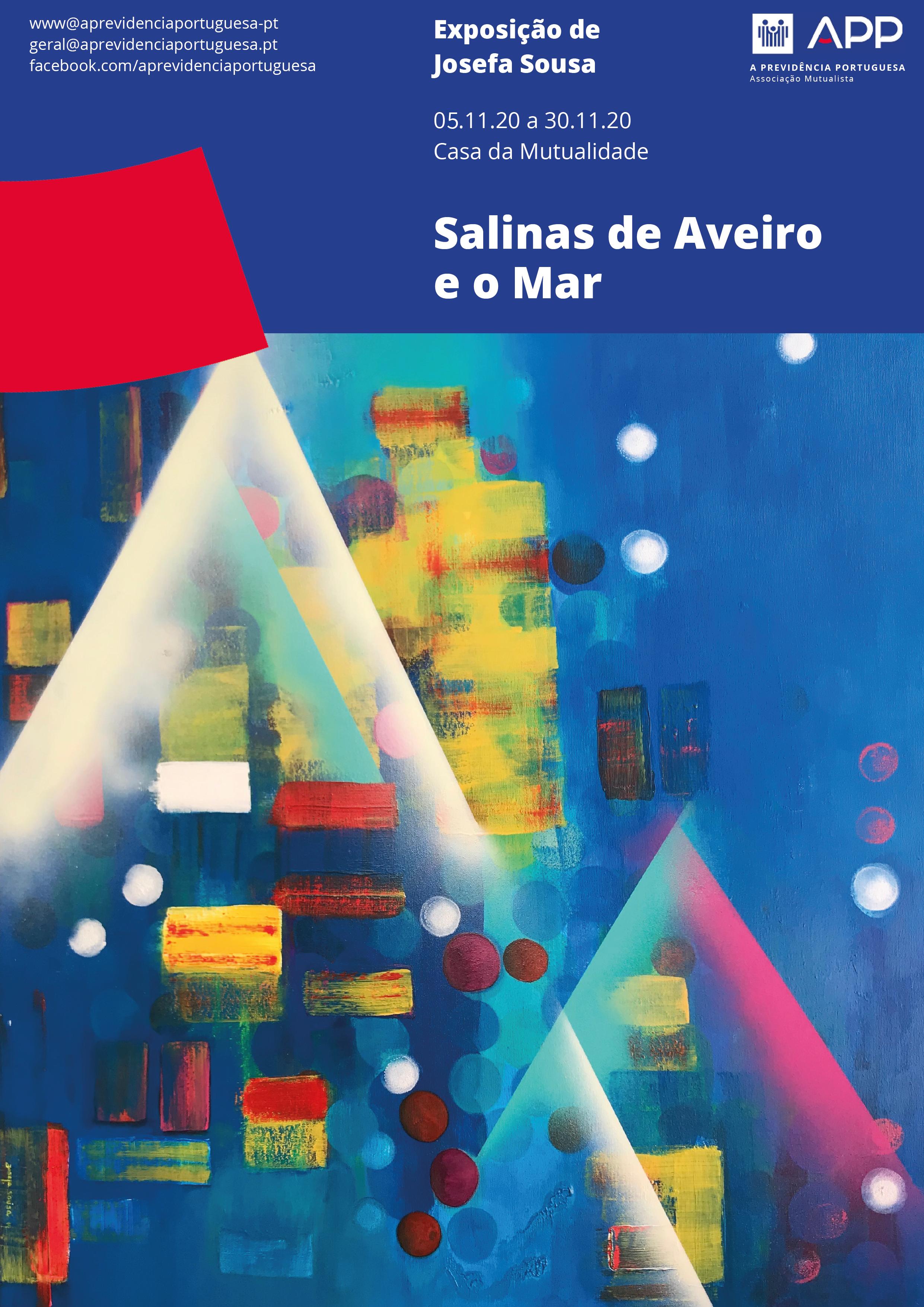 Salinas de Aveiro e o Mar - Josefa Sousa